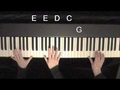 First steps in playing piano by ear