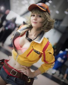 r/gaming - Cindy Aurum cosplay (Final Fantasy XV)JA's media statistics and analytics Cosplay Lindo, Cute Cosplay, Amazing Cosplay, Cosplay Outfits, Best Cosplay, Anime Cosplay Mädchen, Sublime Creature, Cindy Aurum, Actrices Sexy