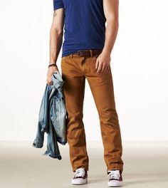 Slim Straight Honey jeans American Eagle ONLINE 32 waist 36 inseam