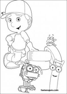 Top 25 Free Printable Handy Manny Coloring Pages Online Twin Handy Manny Coloring Pages