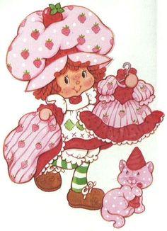Image result for strawberry shortcake