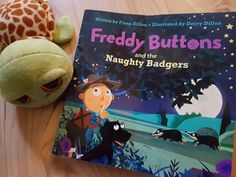 Freddy Buttons and the Naughty Badgers Books About Growing Up, Book Review, Childrens Books, Dairy Free, Giveaway, Irish, Lunch Box, Buttons, Blog