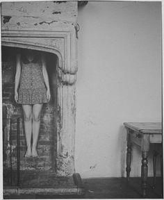 "Saatchi Online Artist: Vikram Kushwah; Black & White, 2010, Photography ""The Fireplace"""