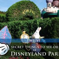 What we love about Disneyland Paris is the attention to detail. Here are 12 hidden secrets that you should look out for during your next visit to Disneyland Paris. Secret 1 There is a mirror outside