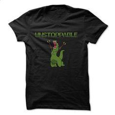 Unstopable T-rex - #tshirt painting #black sweatshirt. BUY NOW => https://www.sunfrog.com/Funny/Unstopable-T-rex.html?68278
