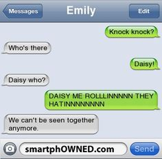 Daisy - Other - Aug 17, 2012 - Autocorrect Fails and Funny Text Messages - SmartphOWNED