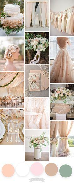 Jak wybrać paletę kolorystyczną ślubu? • haukotella.com