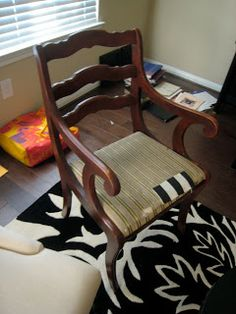 An Old Chair with a New Look
