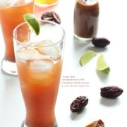 Iced Tea with Medjool Date Syrup