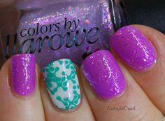 """Colors by Llarowe """"Weeping Angels"""" www.colorfulcrack.com"""