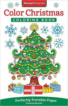 AmazonSmile: Color Christmas Coloring Book: Perfectly Portable Pages (On-The-Go Coloring Book) (9781497200814): Thaneeya McArdle: Books