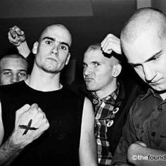 Henry Rollins and Ian MacKaye at a Dead Kennedys show, Irving Plaza Henry Rollins, Music Love, Music Is Life, Good Music, Punk Rock, Black Flag Band, Minor Threat, Hardcore Music, Dead Kennedys