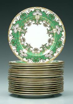 Royal Crown Derby for Tiffany & Co. Service Plates