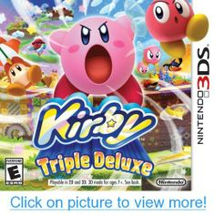 Buy Kirby: Triple Deluxe on at Mighty Ape NZ. Join Kirby in the all new platformer Kirby: Triple Deluxe and rescue the kidnapped King Dedede on a mysterious huge plant which has grown in Dream . Nintendo 3ds Games, Nintendo Switch, Wii Games, Final Fantasy Vii Remake, Star Wars Jedi, Cry Anime, Anime Art, Yoshi, Shopping