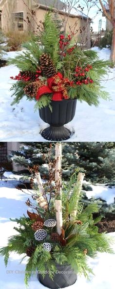 326 best Christmas Outdoor Decoration Ideas images on Pinterest in 2018