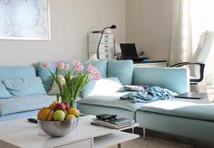 Yaz Temalı Mavi Dekorasyon | En Güzel Evler