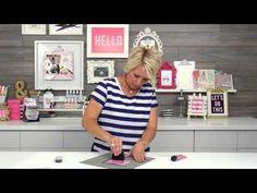 Heidi swapp screen printing Videos - Scrapbook.com