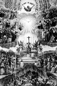 Holy Mass- Think about this at the Consecration next time you're at Mass...