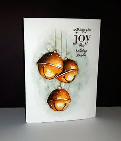 Read more about Christmas Craft Ideas Painted Christmas Cards, Watercolor Christmas Cards, Christmas Drawing, Diy Christmas Cards, Christmas Paintings, Christmas Bells, Watercolor Cards, Xmas Cards, Christmas Art