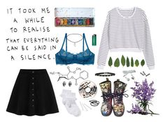 """""""artsy"""" by bleedinggg ❤ liked on Polyvore featuring art"""