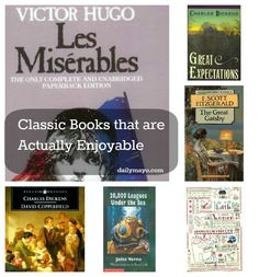 Daily Mayo: Classic Books that are Actually Enjoyable