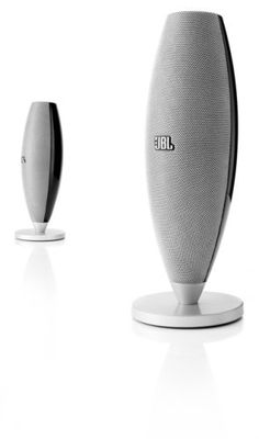 JBL Duet II High Performance Speaker System for Portable Music and PC - Black/Silver (Pair). Great JBL sound from the Phoenix SE Tranducers. 3.5mm mini stereo jack so you can hook it up many audio devices. Has a 6 Watt JBL amplifier for high output. Beautiful black design.
