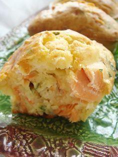 Mini cakes au saumon fumé - Thermomix