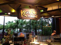 Dining Recon: Kona Island Sushi(?) Bar!