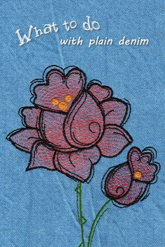 Rose Embroidery, Silk Ribbon Embroidery, Hand Embroidery Patterns, Machine Embroidery Designs, Embroidery Stitches, Rabbit Anatomy, Purple Roses Wallpaper, Voodoo Doll Tattoo, Doodle Doodle