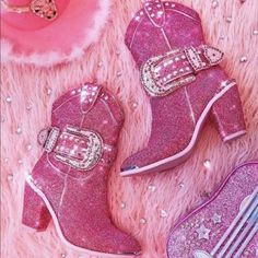 Pink Cowgirl Boots, Pink Boots, Cowboy Boots, Western Boots, Cowgirl Costume, Cowgirl Party, Dolls Kill Shoes, Mellow Yellow, Pink Aesthetic