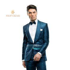Costum de mire la comandă Filip Cezar Horizon  http://www.filipcezar.com/ro/content/62-costume-mire-2017 #FilipCezar #Costume #Bespoke #Green #Blue #Black