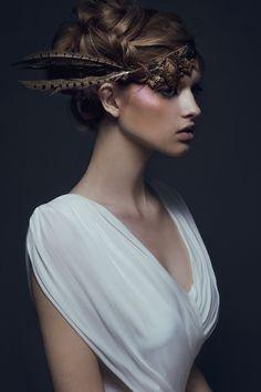Stasia. Ford Models Chi.  MUA - Zee Gustafson  Styling - Rebecca Neenan