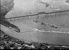 Remains of Corn Island Louisville, Ky., from an old photo