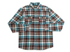 Modern Twist LS Flannel Button Up