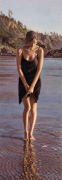 Steve Hanks - Gentle Tide (http://www.hiddenridgegallery.com/store/steve-hanks/gentle-tide.html)