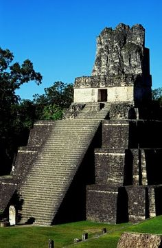 The magnificent site of Tikal lies amidst the lush rainforests of northern Guatemala in the heart of the region known as the Petén. Here, where the forest canopy