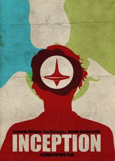 Minimal Movie Poster for Inception - film, cinema - - Graphic Design Best Movie Posters, Minimal Movie Posters, Minimal Poster, Cinema Posters, Film Posters, Christopher Nolan, Poster Design, Alternative Movie Posters, Film Serie