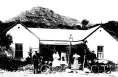 The first Hout Bay Postal Agency shared premises with the Police Station 1903 Cape Town South Africa, Police Station, Most Beautiful Cities, Old Buildings, Old Pictures, Historical Photos, Old Things, Landscape, History