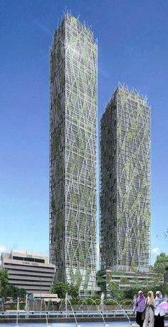DNP Tower, Kuala Lumpur, Malasya by Jean Nouvel :: 49 and 43 floors