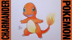 Drawing Time Lapse: Charmander (Pokemon) ポケットモンスター || #004