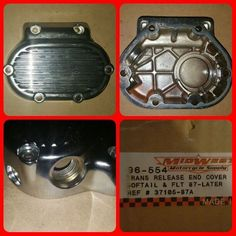 90 Harley BT Trans Release Cover Motorcycle Parts #MidWestMotorcycleSupply