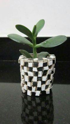 Mosaico mėtodo directo sobre cerámica.
