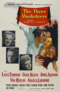 Poster - Three Musketeers, The (1948)