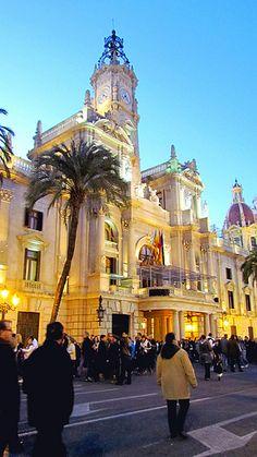 Ayuntamiento Valencia Fallas 2012