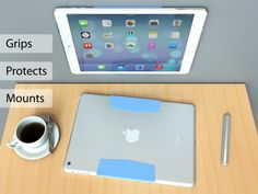 Alex Baca + Inc. is raising funds for MagBak mounts, grips, protects your iPad. Minimalist design on Kickstarter! Mounts your iPad to your car, kitchen & anywhere else. Provides the perfect grip. Protects your iPad. Snaps the SmartCover to the back. Grunge, Ipad Mount, Iphone 5se, Portfolio Case, Apple Watch Iphone, Ipad Accessories, Tablet Stand, Backpack For Teens, Ipad 4