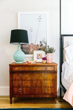 Plain Brass Ring Pulls Hardware Cabinet Pull Drawer Pull – Everything for Decoration Bedside Dresser, Bedroom Dresser Styling, Bedside Table Decor, Bedroom Dressers, Bedroom Lamps, Bedroom Decor, Large Bedside Tables, Entryway Dresser, Console Styling