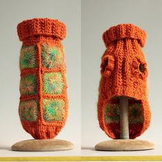 Too hip to be a Granny Square  size XX Small by HepzibabaBowWow