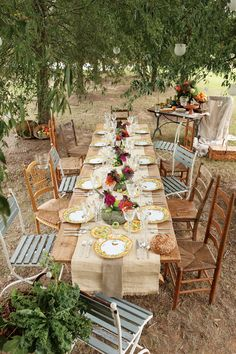 outdoor dinner party! So beautiful!