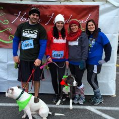 The Griffith Furniture team at the Jingle Bell Run!