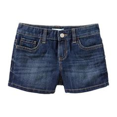 Old Navy | Girls Denim Shorts (Katlyn) | Kids Fashion (My 3 girls) | … ❤ liked on Polyvore featuring shorts, kids, girls and baby